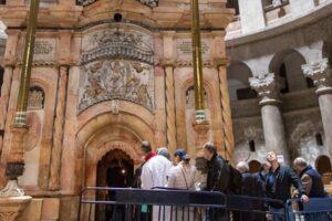כנסיית הקבר ודרך הייסורים בירושלים